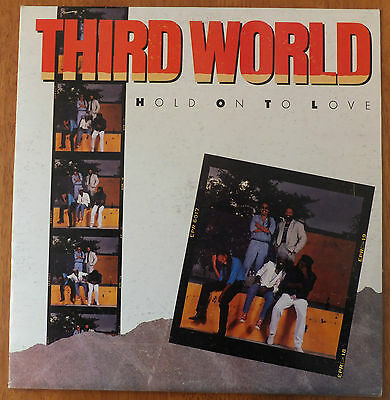 Third World Hold On To Love Vinyl lp VG+/VG FC40400 Jamaican Import Sonic Sounds