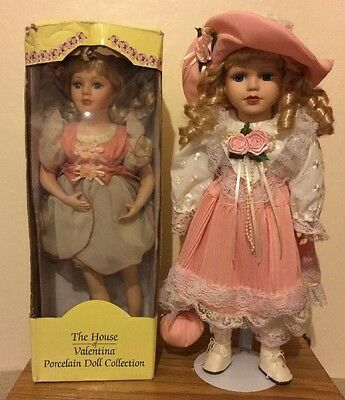 Pair of Porcelain Dolls Collection