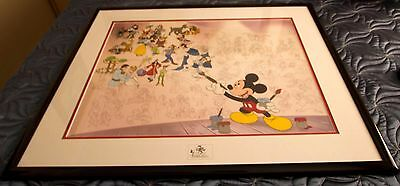 "Disney Sericel  ""Mural of Memories"" Limited Edition (18)"