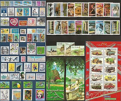 2003 FRANCE ANNEE COMPLETE - NEUF ** LUXE - 94 Timbres du n° 3538 à 3631