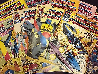 ANY 5 MARVEL UK TRANSFORMERS COMICS - DATE RANGE 1988 to 1991 !FREE POSTAGE!