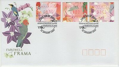AUSTRALIA FAREWELL FRAMA 2003 FIRST DAY COVER P&P discount available