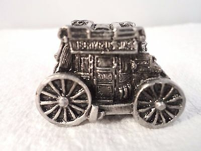 Liberty Falls Cast Pewter Stage Coach 1994 Figurine (DC490)