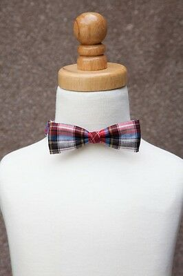 Stinky McGee Baby Toddler Boy Stylish Neck Wear Bowties Holiday Plaid Bow