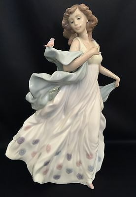 """~FREE FAST SHIPPING~Lladro """"Summer Serenade"""" (6193 Mint Condition) Gorgeous!"""