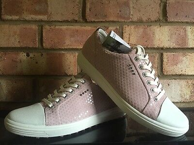 ECCO Women's Golf Casual Hybrid Lace Violet Ice EU40 UK 6.5/7 Clearance 12201