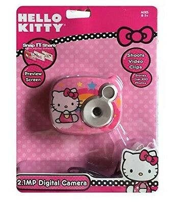 New Hello kitty 2.1 Pm Digital Camera Ages 5+