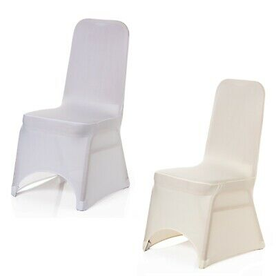 1 - 100 Pcs Chair Covers Lycra Spandex Banquet Wedding Anniversary Party Decor
