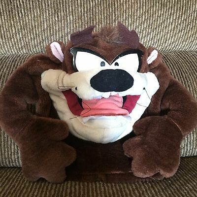 Vintage Looney Tunes Tasmanian Devil  Plush Hand Puppet Collectable WB 1994 Taz