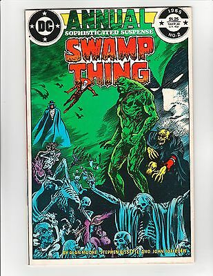 Swamp Thing (1982 2nd Series) Annual #2 - Justice League Dark! 8.5 Very Fine+