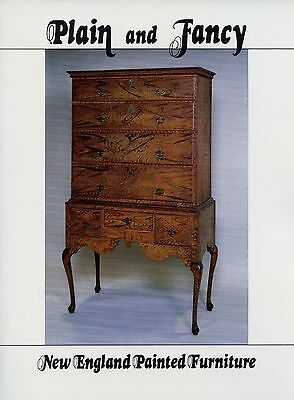 Antique New England Colonial Painted Furniture / Scarce Illustrated Book