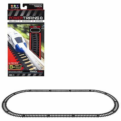 Power Trains Oval Track Pack By Power Trains 8 feet of track long