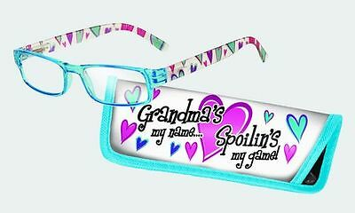 Spoontiques Reading Glasses w/  Matching Case Grandma