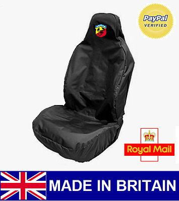 Abarth Car Seat Cover Protector Sports Bucket Heavy Duty - Fiat Grande Punto