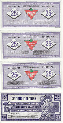 Canada Canadian Tire Store 2004 Replacement coupon 25 Cents 9990118796-8799