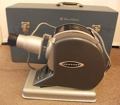 VINTAGE  BELL & HOWELL UNOSCOP FOCAL N24 SLIDE PROJECTOR 1960s