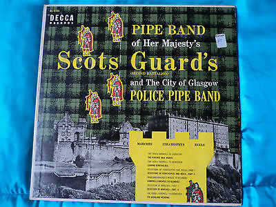 Pipe Band Of Her Majestys Scots Guards – and the city of Glasgow Police Pipe B