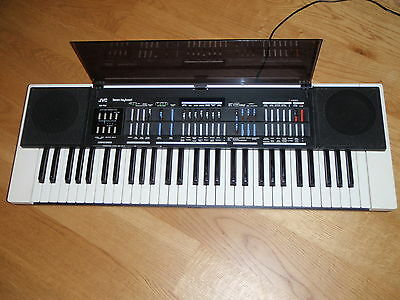 JVC KB-700 early 80s synthesizer & analog drumbox full working worldwide ship