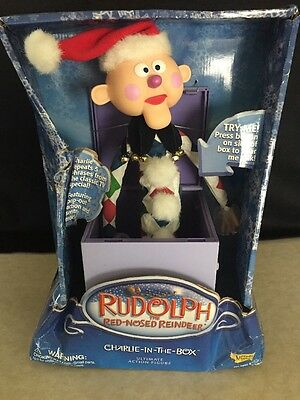 Memory Lane Rudolph Charlie in the Box Ultimate Large Action Figure NEW!