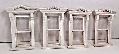 Miniature Dollhouse Victorian Windows