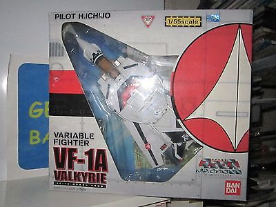 Macross Valkyrie Vf-1A Variable Fighter 1/55 Scale Pilot H.ichijo Perfetto Entra