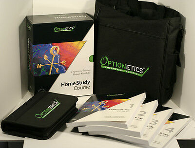Optionetics Options Course 4 Stock Trading Study Books+14 Cds+6 Dvds Msrp $4,550