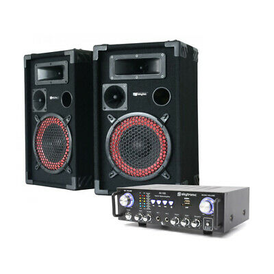 Skytec PK-XEN8AV Party Speaker Package Perfect For Home Party