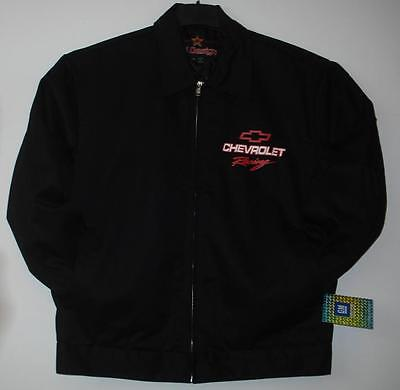 Size Xl Authentic Chevrolet Racing Mechanic Printed  Jacket New Jh Design  Xl