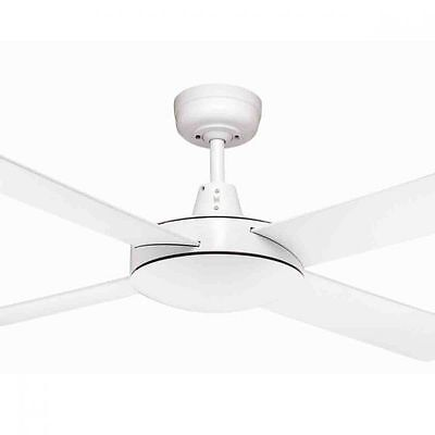 "New Martec Lifestyle Ceiling Fan 52"" 1300Mm - No Light - White - Dls134W"