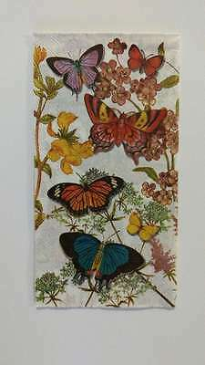 2 Single Paper Napkins For Decoupage Collection Butterflies