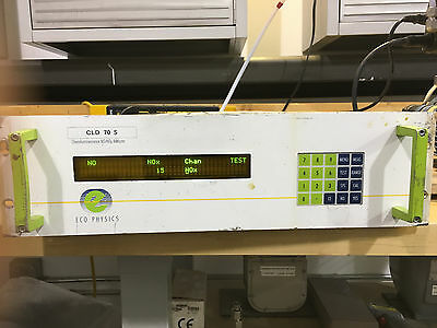 Eco Physics Model CLD 70S NOx Analyzer