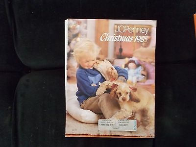 JC PENNEY  WISH BOOK for 1985 CHRISTMAS PENNEYS CATALOG