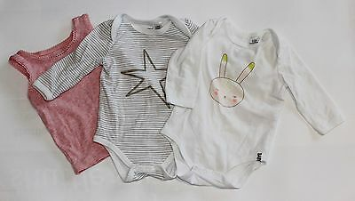 Baby Girls Cotton On Baby Romper & Singlet Bundle Size 00 & 0 Clothing