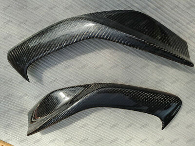 Carbon Fiber Headlight Eyelids Eyebrows for 1997-2001 Honda Prelude 1998 2000