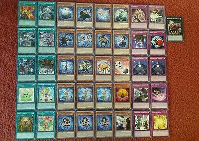Yu-Gi-Oh Ghostrick Deck - 40 cards complete BONUS 5 cards
