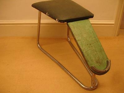 Vintage / Retro Antique Shoe/Boot fitting stool shop footwear retail fitting