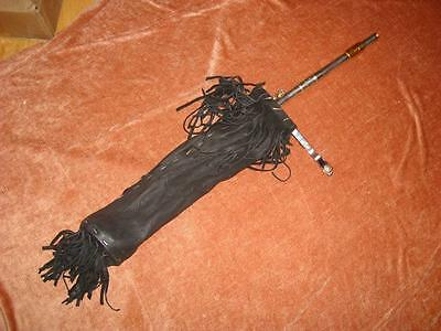 Flute Quiver, Renaissance Ian Anderson Jethro Tull style, clips to Mic Stand