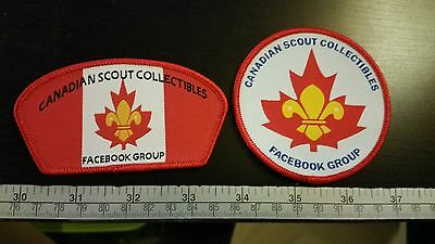Canadian Scout Collectibles Facebook Group Patches