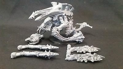 40k Tyranids Carnifex TL Devourers Stone Crusher Fully Magnitized