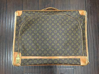 Authentic❤️ Louis Vuitton Monogram Large Suitcase French Co Saks Fifth Ave LV
