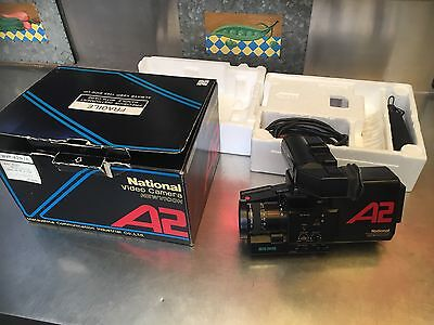 Rare Vintage In Box National A2 Newvicon Video Camera WVP-A2 Mint Condition Age