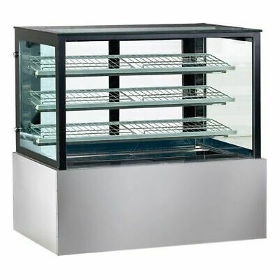 Hot Food Display Unit, Square Heated Cabinet 1200x740x1350mm