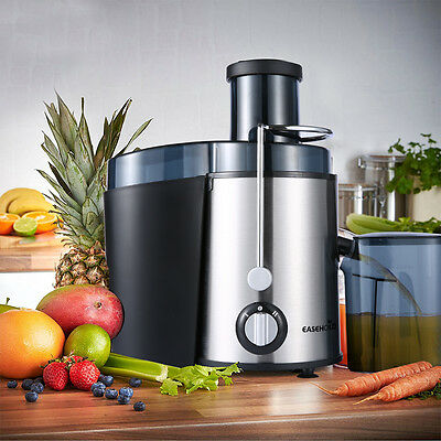 Easehold Dual Speed Fruit & Vegetable Juicer Extractor Stainless Steel Processor