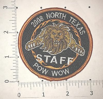 2008 North Texas Pow Wow Staff Patch - Royal Rangers