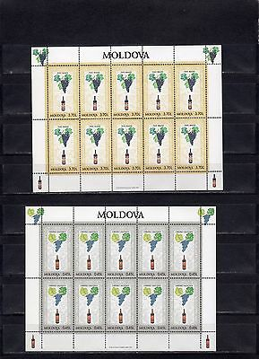1997 Moldovan wine 4 small sheet