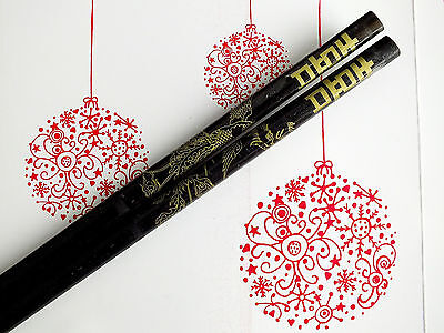 Japanese Chopsticks Black Phoenix Happy Hair Stick Party Chinese Dinner Wedding