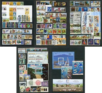 New Zealand QEII 1980 Onwards. Small Mix of Mint Stamps, mostly MNH
