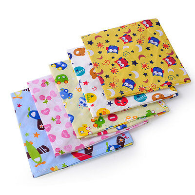 5x Cute Baby Kids Boy Girl Triangle Saliva Dribble Towel Bandana Bibs Head Scarf