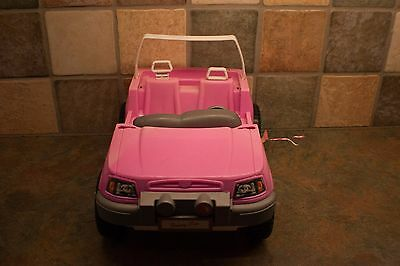 Barbie pink truck/car