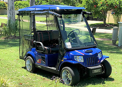 TOMBERLIN EMERGE Electric Golf Cart, SS 48volt, 2013 Model, Immaculate Condition